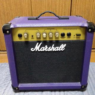 希少 ヴィンテージ レアカラー イギリス製 Marshall ギターアンプ(ギターアンプ)