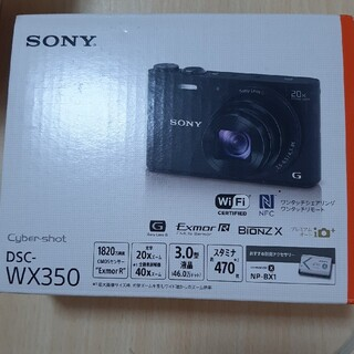 SONY - SONY DSC-WX350 ブラック