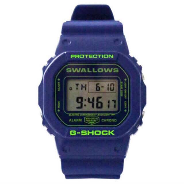 G-SHOCK(ジーショック)のG-SHOCK 2021年Swallowsモデル ヤクルトスワローズ メンズの時計(腕時計(デジタル))の商品写真