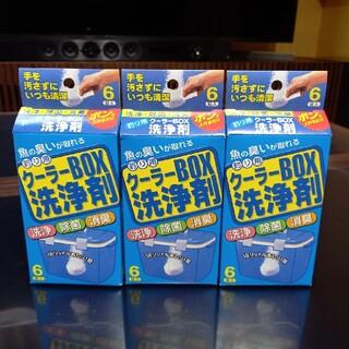 【新品】クーラーボックス用 洗浄剤 3箱セット