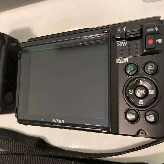 Nikon(ニコン)の純正バッテリー2個Nikon COOLPIX W300 防水デジカメ ケース付き スマホ/家電/カメラのカメラ(コンパクトデジタルカメラ)の商品写真