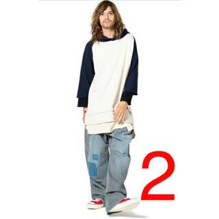 glamb - glamb グラム Tri layered hoodie
