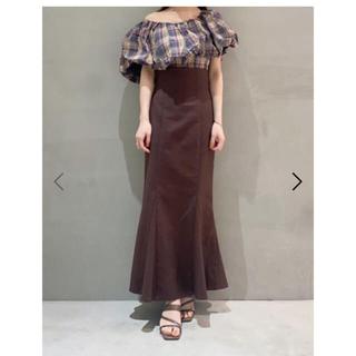 snidel - ハイウエストタイトヘムフレアスカート サイズ2
