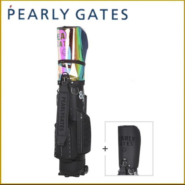 PEARLY GATES(パーリーゲイツ)の★限定値下★パーリーゲイツ キャディバッグ ブラック グロッシー スポーツ/アウトドアのゴルフ(バッグ)の商品写真