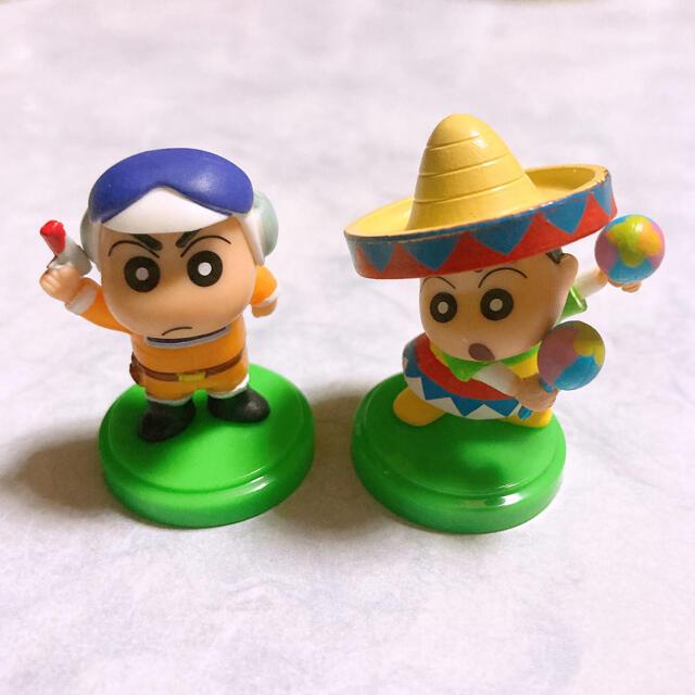 チョコエッグ クレヨンしんちゃん 2個セット エンタメ/ホビーのおもちゃ/ぬいぐるみ(キャラクターグッズ)の商品写真