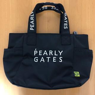 パーリーゲイツ(PEARLY GATES)のパーリーゲイツカートバック黒(バッグ)