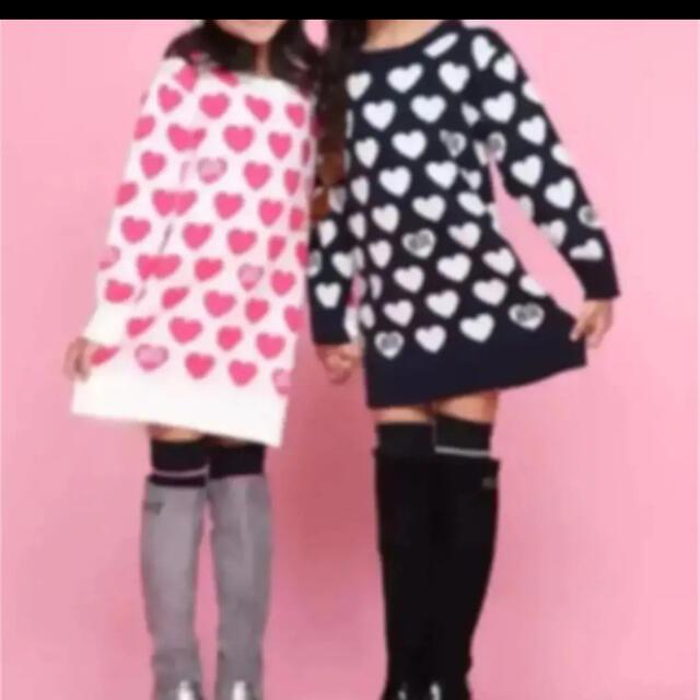 RONI(ロニィ)のRONI❤️ニットワンピース   お買い得品 キッズ/ベビー/マタニティのキッズ服女の子用(90cm~)(ワンピース)の商品写真
