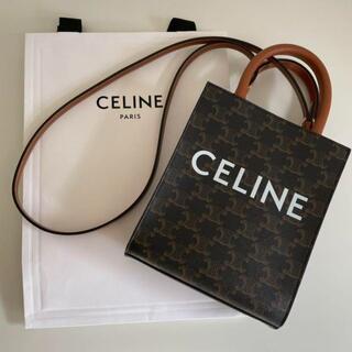 celine -  新【品】CELINE セリーヌ ミニ バーティカルカバ/ショルダーバッグ