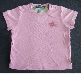 バーバリー(BURBERRY)のバーバリー ピンクTシャツ80㎝(Tシャツ)