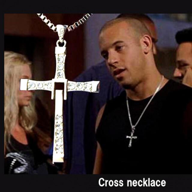 高品質!『ワイルドスピード』 クロス ネックレス メンズのアクセサリー(ネックレス)の商品写真