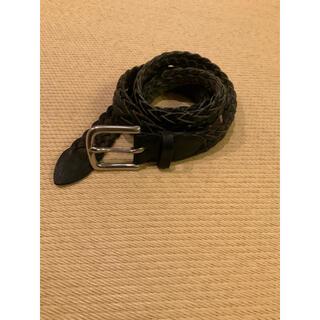 WHITEHOUSE COX - ホワイトコックス ベルト ナロー タイプ 黒