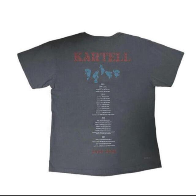 birdog コムドット 2million Band T-shirt Tシャツ メンズのトップス(Tシャツ/カットソー(半袖/袖なし))の商品写真