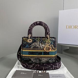 ディオール(Dior)のLADY D-LITE ミディアムバッグ(ハンドバッグ)