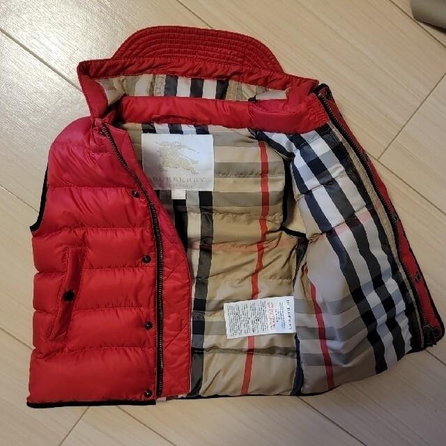 BURBERRY(バーバリー)のBURBERRY キッズ ダウンベスト キッズ/ベビー/マタニティのキッズ服男の子用(90cm~)(ジャケット/上着)の商品写真