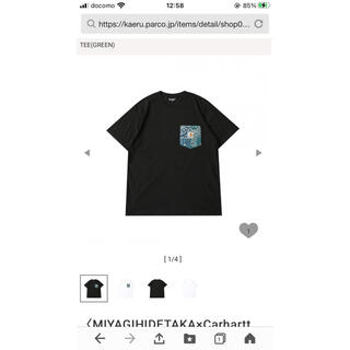 カーハート(carhartt)のcarhartt×miyagi hidetaka(Tシャツ/カットソー(半袖/袖なし))