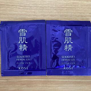 セッキセイ(雪肌精)の雪肌精 ハーバルジェル サンプル(オールインワン化粧品)