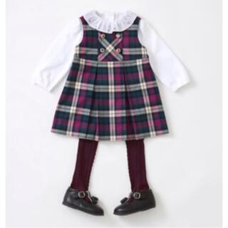 familiar - 【2回着用】値下げ familia ファミリア ジャンパースカート