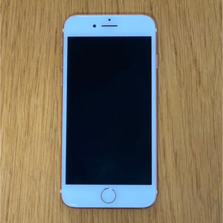 iPhone - iPhone 7 128GB ローズゴールド SIMフリー