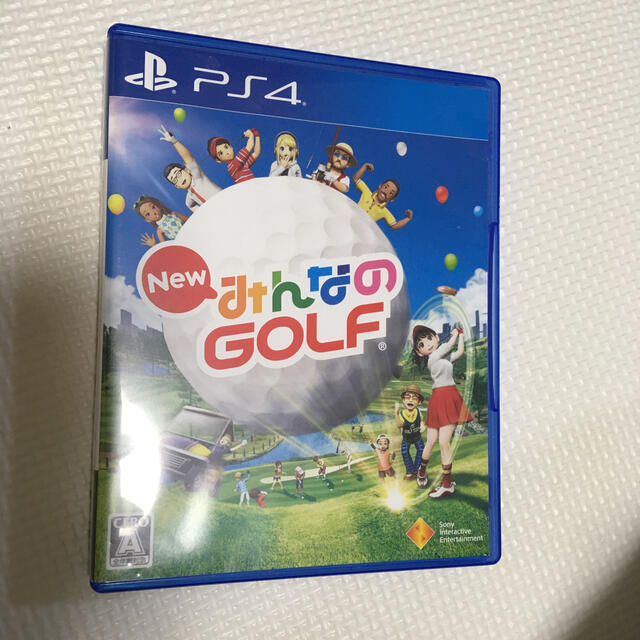PlayStation4(プレイステーション4)の早い者勝ち‼️PS4 みんなのゴルフ エンタメ/ホビーのゲームソフト/ゲーム機本体(家庭用ゲームソフト)の商品写真