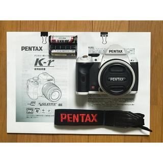 PENTAX - PENTAX k-r ホワイト レンズキット