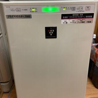 シャープ(SHARP)の【SHARP】加湿空気清浄機 プラズマクラスター KC-Y30-W USED(空気清浄器)