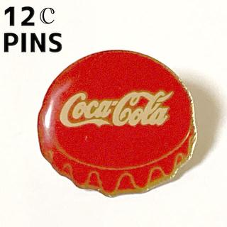 NO.12  ピンバッジ コカコーラ 栓