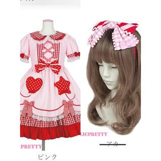Angelic Pretty - 夢見るFantasic Balloonワンピースとカチューシャ