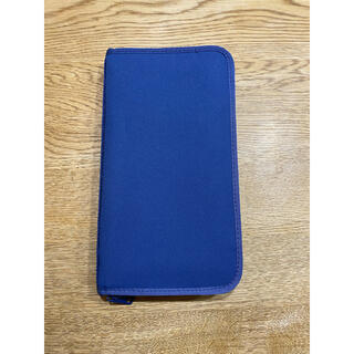 ムジルシリョウヒン(MUJI (無印良品))の無印良品 パスポートケース クリアポケット6枚付き(ファイル/バインダー)