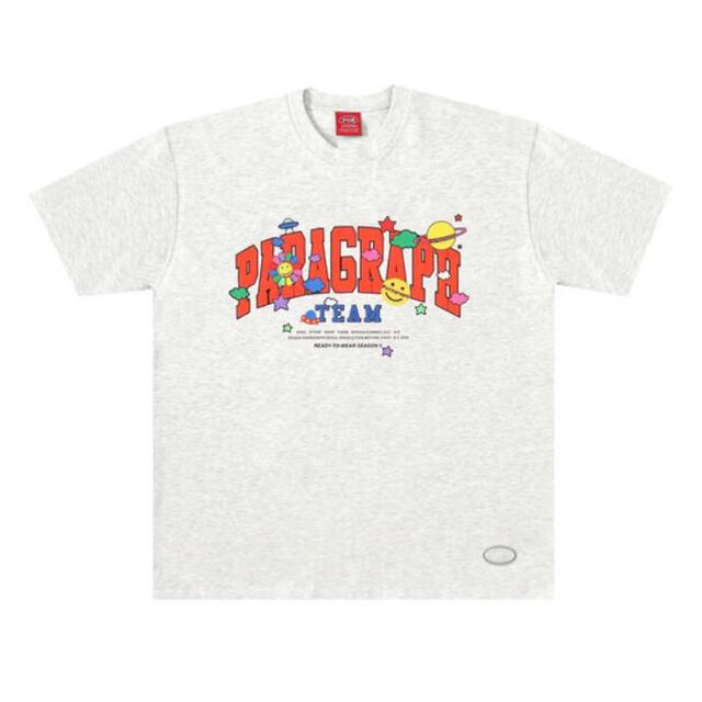 新作 PARAGRAPH SMILE HAPPY T-SHIRT WN1110 メンズのトップス(Tシャツ/カットソー(半袖/袖なし))の商品写真