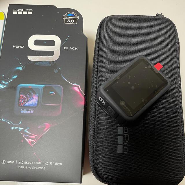 GoPro(ゴープロ)のgopro hero9 ほぼ未使用品 スマホ/家電/カメラのカメラ(ビデオカメラ)の商品写真