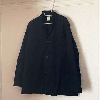 COMOLI - VETRA vintage stand collar work jacket
