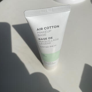 THE FACE SHOP - the face shop エアコットンメイクアップベース 下地