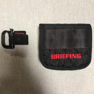 BRIEFING - ブリーフィング パターカバー BRIEFING マレット用 人気のブラック
