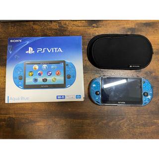ソニー(SONY)のPlayStation Vita Wi-Fiモデルソフト3つ付き 値下げ交渉あり(携帯用ゲーム機本体)