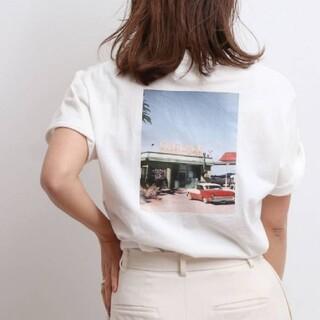 アングリッド(Ungrid)のバックフォトプリントT ow(Tシャツ(半袖/袖なし))