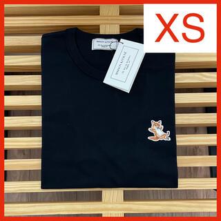 MAISON KITSUNE' - 【新品】メゾンキツネ Tシャツ ブラック XS MAISON KITSUNE