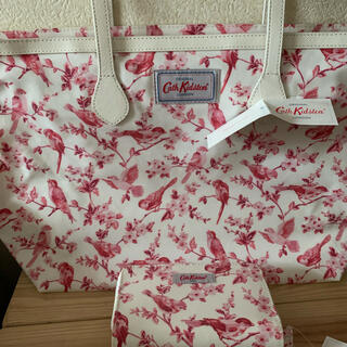 キャスキッドソン(Cath Kidston)の新品タグ付き キャスキッドソンブリティッシュバーズトート&お財布(トートバッグ)