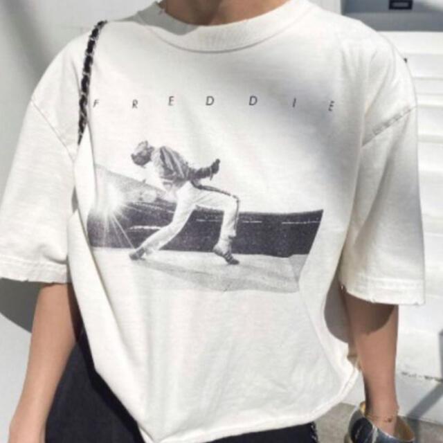 Ameri VINTAGE Freddie Mercury Tシャツ レディースのトップス(Tシャツ(半袖/袖なし))の商品写真