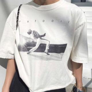 Ameri VINTAGE - Ameri VINTAGE Freddie Mercury Tシャツ