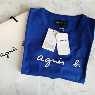 agnes b. - 新品★agnes b アニエスベー半袖 Tシャツ レディースLサイズ ブルー