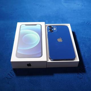 Apple - 【中古美品】SIMフリー iPhone12mini 128GB ブルー
