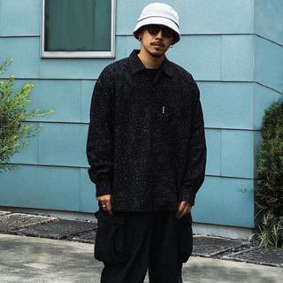 COOTIE - 最終値下げ Splatter Open-Neck L/S Shirt