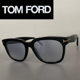 TOM FORD - サングラス トムフォード ウェリントン ブラック ゴールド スモークレンズ 黒