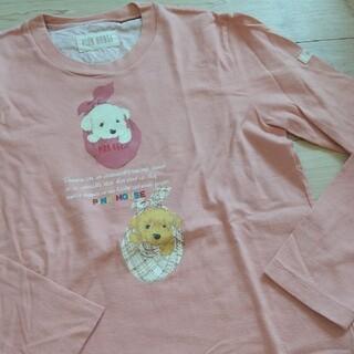 ピンクハウス(PINK HOUSE)のピンクハウス 犬 ロンティー チワプー トイプー 人気(Tシャツ(長袖/七分))