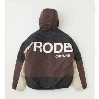 ロデオクラウンズワイドボウル(RODEO CROWNS WIDE BOWL)のロデオ ★バイカラー中綿BZ(メンズのL)(ナイロンジャケット)