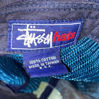 STUSSY - 90s OLD STUSSY オールドバケットハット帽子 ビンテージ藤原ヒロシ