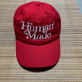 Supreme - HUMAN MADE girls don't cry キャップ cap 赤