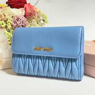 miumiu - ⭐  miumiu 折り財布  ⭐