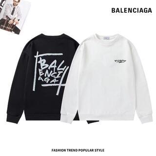 Balenciaga - 2枚12000/Balenciaga パーカー 男女兼用#8014