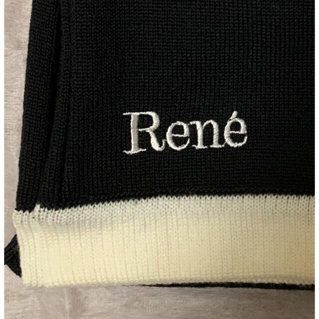 René(ルネ)の未使用 Rene ルネ ウールブランケット ノベルティ  エンタメ/ホビーのコレクション(ノベルティグッズ)の商品写真